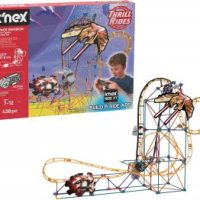 K'NEX Thrill Rides – Space Invasion Roller Coaster Building Set 438 Pieces $14.92 (Regular $47.99)