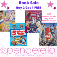 Buy 2 Get 1 Free Book Sale = Children's 5 Minute Stories $3.33 each