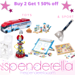 Buy 2 Items and Get 50% off 1 item – Gift Ideas for Sport Fans and Kids Toys!