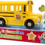 Cocomelon Official Musical Yellow School Bus $11.24 – Awesome Deal!
