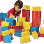 Melissa & Doug Deluxe Jumbo Cardboard Blocks 40 Pieces $16.99 (Regular $39.99)