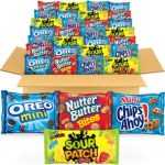 OREO, CHIPS AHOY!, SOUR PATCH KIDS & Nutter Butter – Cookie & Candy 32 Pack Variety Pack $0.34 each!