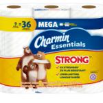 Charmin Toilet Paper Deal – Pack of 9 Mega Rolls $4.80 each