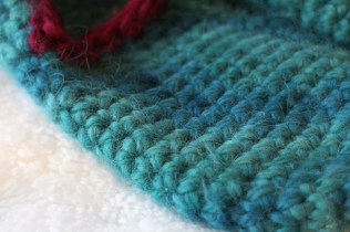 Stitch detail (single crochet)