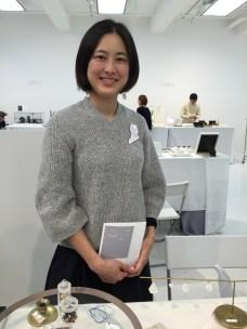 Kimiko Suzuki at New Jewelry 2015