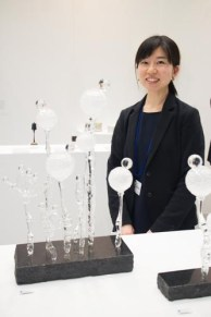 Chigusa Kono is a glass artist from Gunma