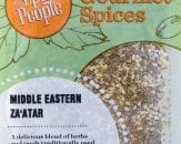 Middle eastern zaatar spice