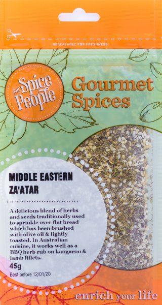Middle eastern zaatar spice