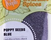 poppy seeds blue