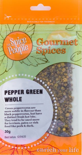 pepper green whole