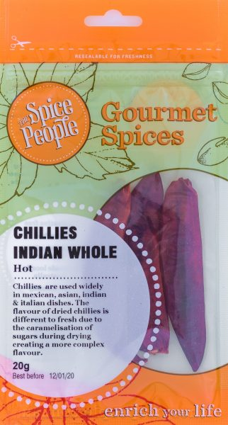 chillies indian whole