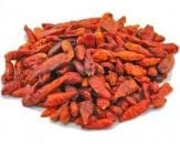 hot and spicy dried chillies birds eye variety