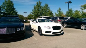 Continental in White - Bentley of Nashville