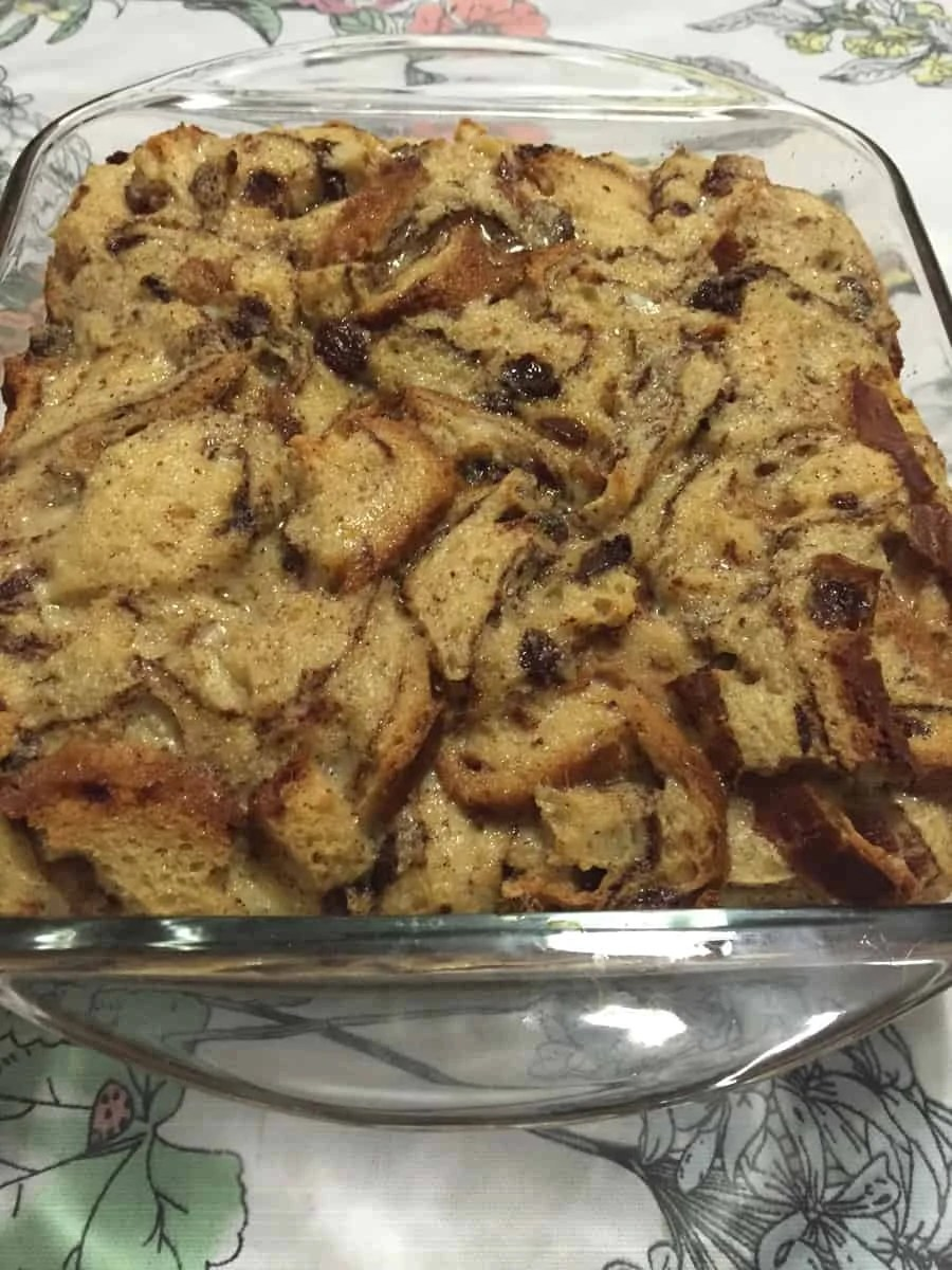 Southern Bread Pudding Recipe The Spirited Violet