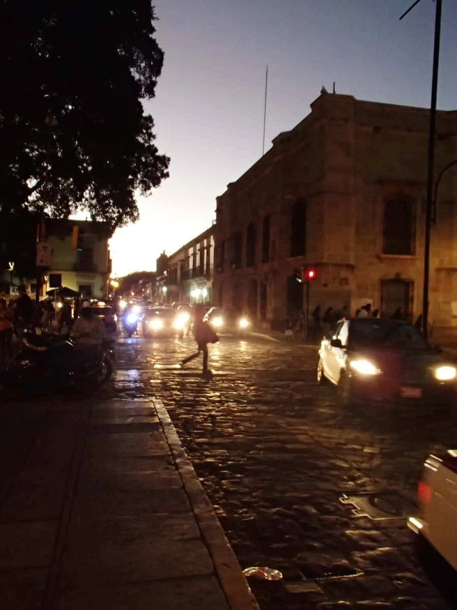 Views from the streets of Oaxaca City, Mexico | via The Spirited Violet