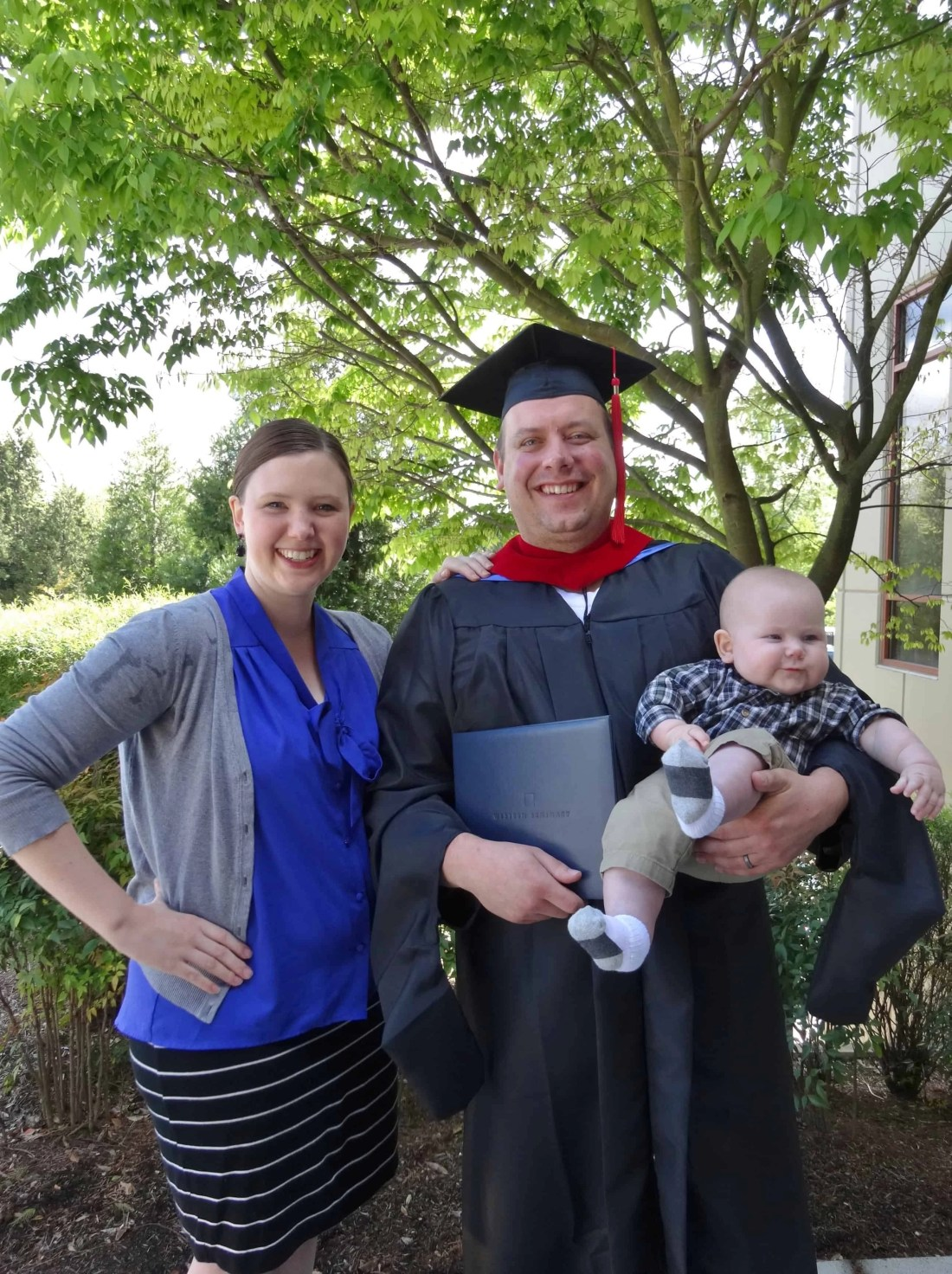 What we learned: married during grad school | The three things we learned from working together and sacrificing for each other's dreams! | A guest post by SimpleMomentsStick.com on The Spirited Violet