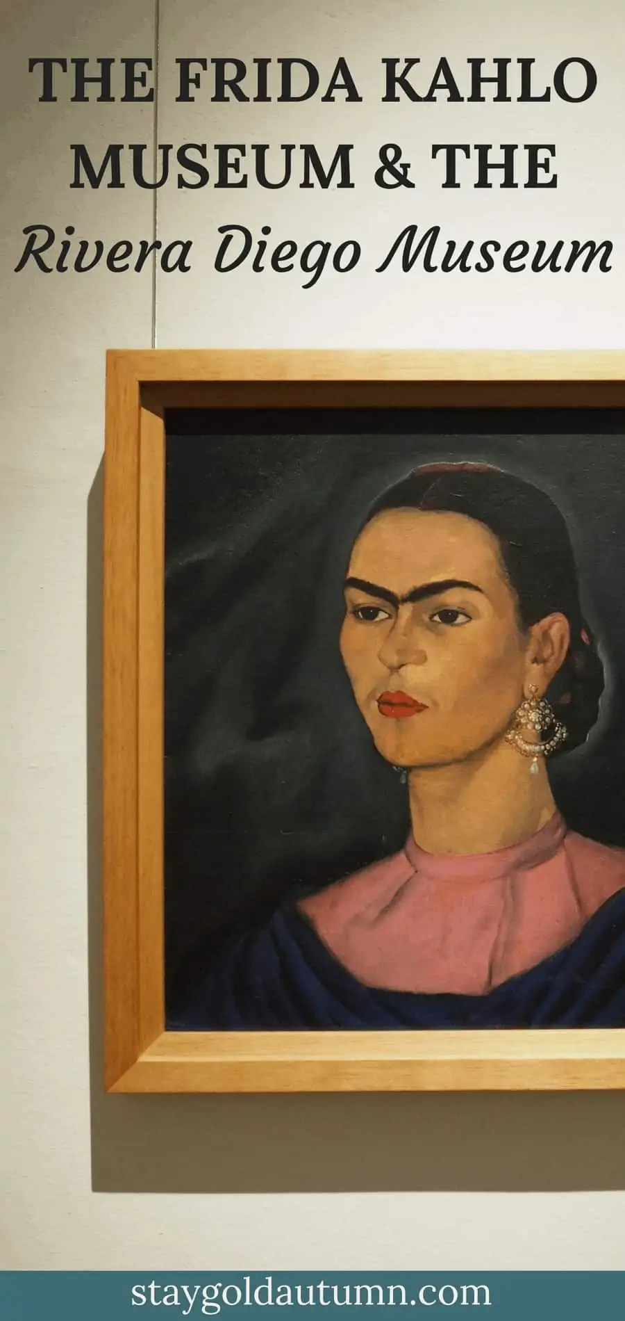 The Frida Kahlo Museum (Casa Azaul/ The Blue House) and the Diego Rivera Anahuacalli Museum are essential places to visit if you visit Mexico City, Mexico. I learned so much about culture and art in Mexico from my visit! | via The Spirited Violet
