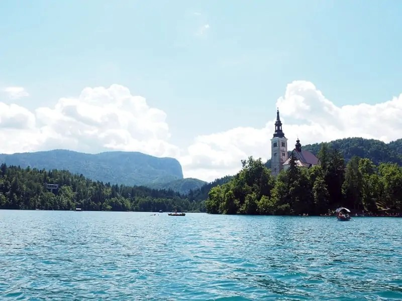 The island on Lake Bled is small, but has a surprisingly large amount of culture to experience. | via The Spirited Violet