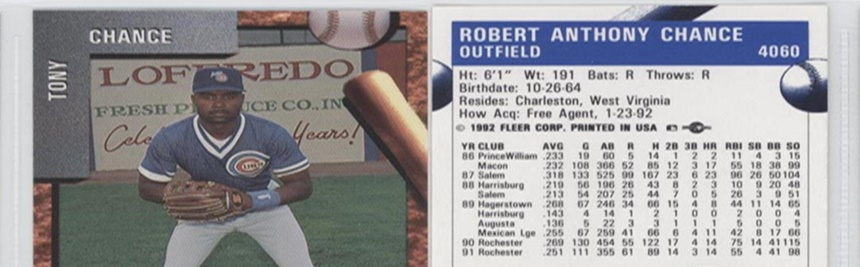 Dream Or Dud The 1989 Upper Deck Star Rookie Subset The Spitter