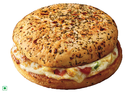 How to Make Domino's Style Pizza Burger At Home?