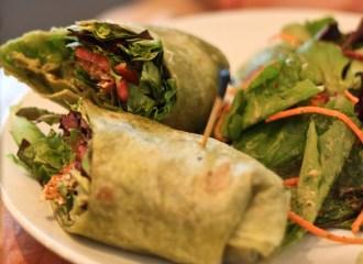 Subway's Veggie Wrap