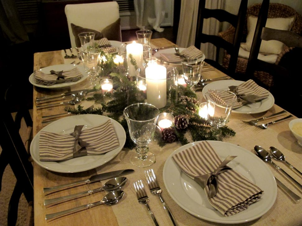8 Tips For Setting a Beautiful Table