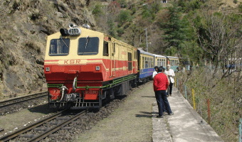 The Toy Train At Shimla -That's One Thing You MUST Experience