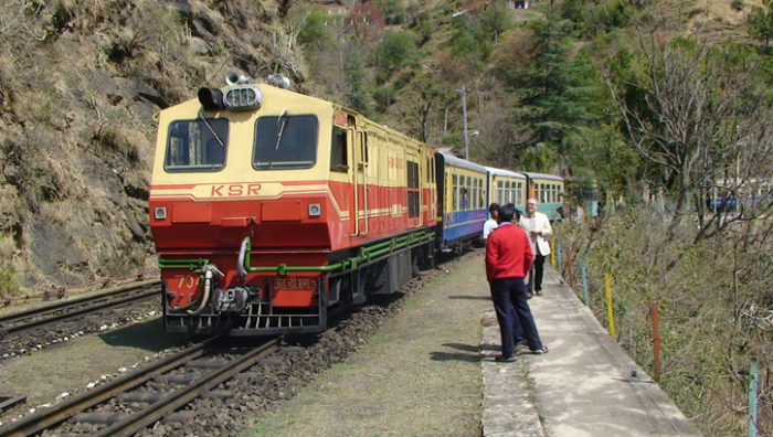 The Toy Train At Shimla