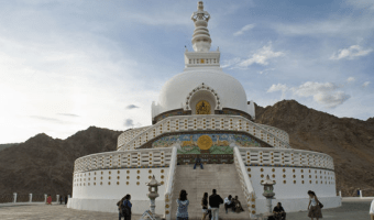 Shanti Stupa Leh – A MUST Visit Place In INDIA
