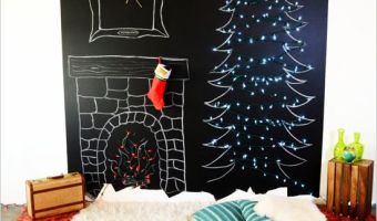 Amazingly Easy DIY Chalk Board Wall for Your Kids!