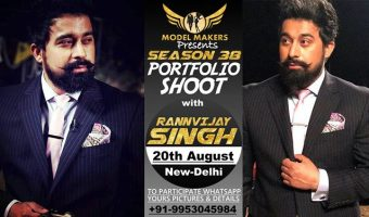 Portfolio Shoot with Rannvijay Singh