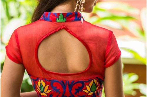 trendiest-blouse-designs-karwa-chauth