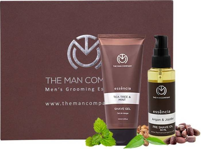 The Man Company Essencia Tea Tree and Mint Shaving Gel