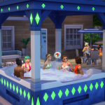 Free hot tub for the 20th anniversary of The Sims
