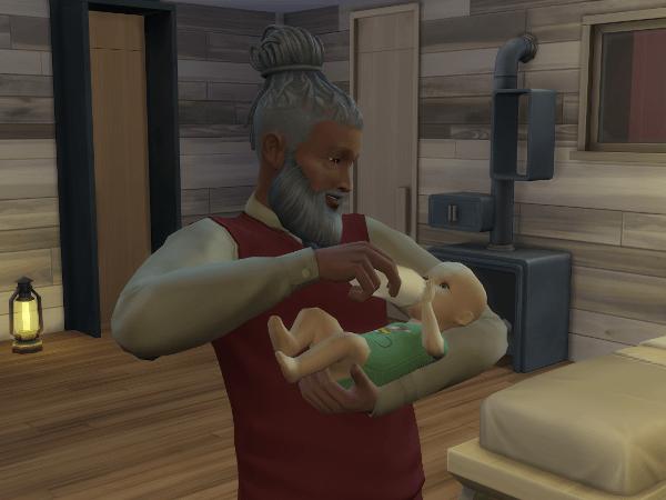 sims 4 babysitter