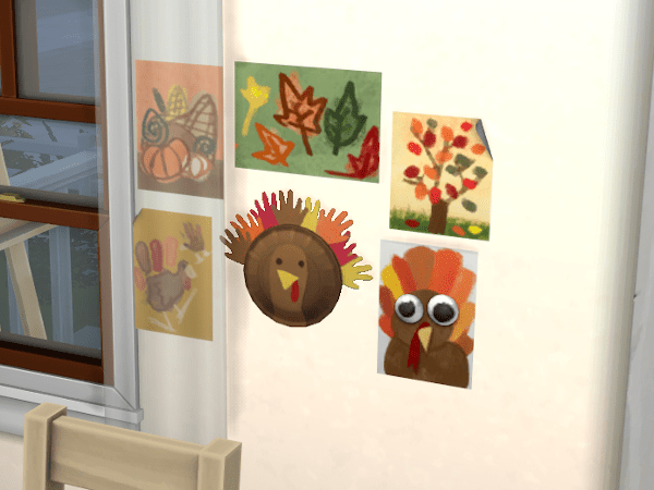 Sims 4 child's fall crafts