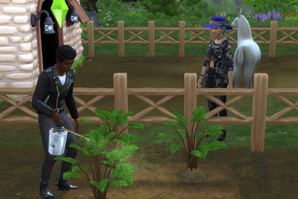 Sims 4 gardening