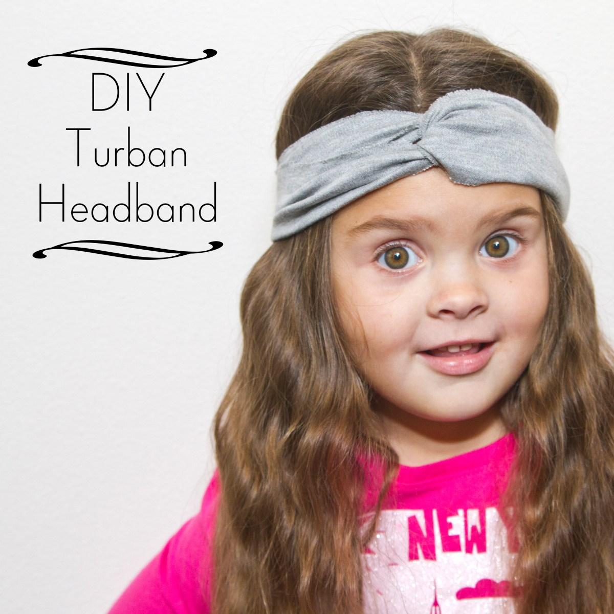The Spohrs Are Multiplying DIY Turban Headband