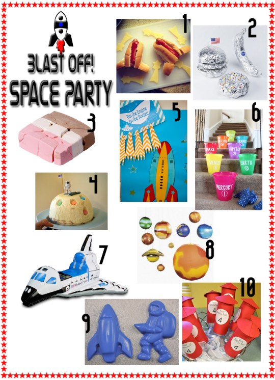 space party ideas