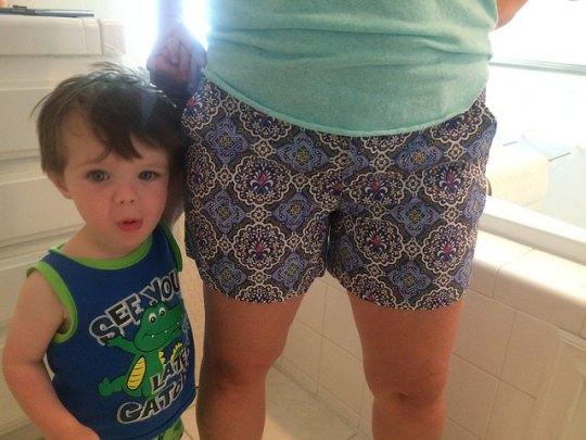 james loves shorts
