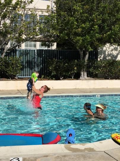 school swimming