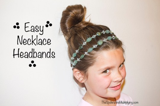 easy necklace headbands