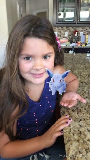 annie and a Pokémon