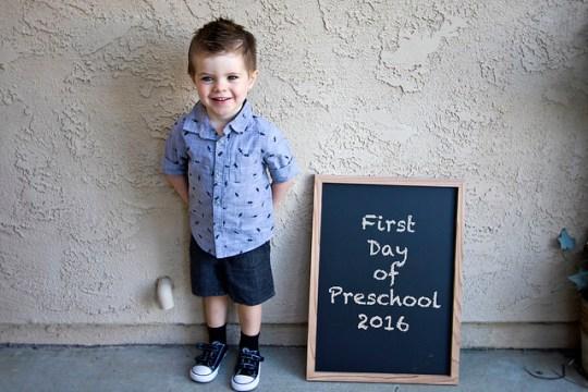 James the preschooler