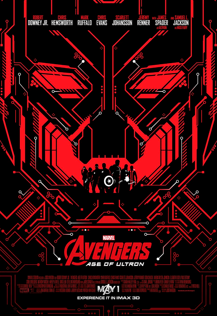 Avengers Age of ULTRON IMAX poster 1