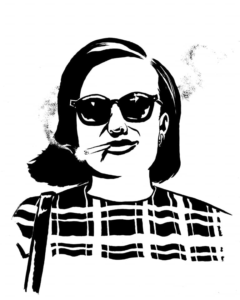Hall of Faces - Peggy Olsen (Elisabeth Moss), Mad Men