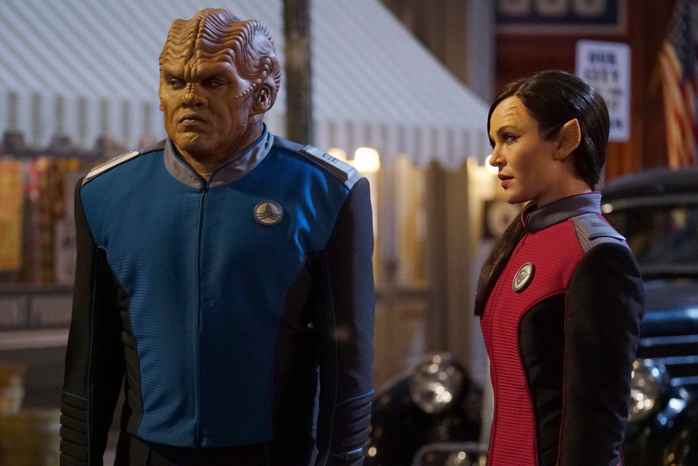 The Orville Deflectors