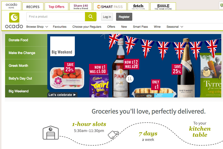 Ocado signs U.S.  partnership