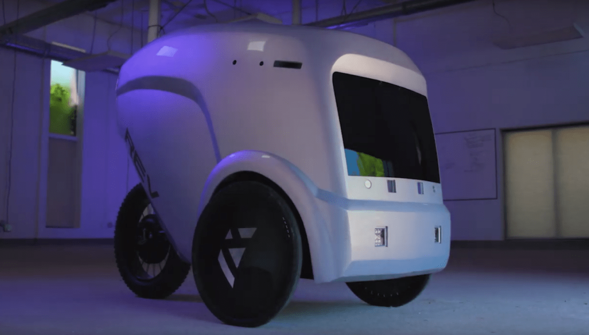 Refraction AI, which makes the three-wheeled autonomous REV-1 delivery vehicle, announced today that it is expanding beyond restaurant meals and into