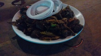 Beef Fry: with an unmistakably distinctive Kerala flavour